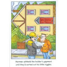 Norman & Brenda Cards NOR122 Open Humour
