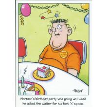 Norman & Brenda Cards NOR125 Open Humour