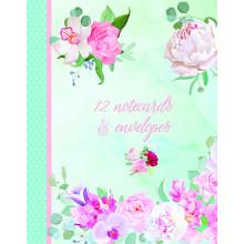 Notecard Wallet Belles Fleurs
