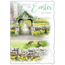 Easter Cards Open Religious 50