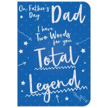 Fathers Day Cards Dad Traditional 50