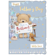 Fathers Day Cards Open Cute 50