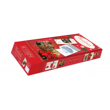 Flat Box Photo Open Christmas Cards