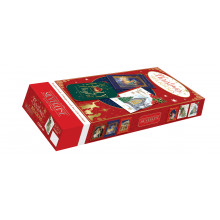 Flat Box Religious Open Christmas Cards