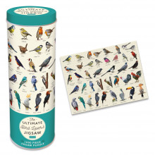1000pc Jigsaw Puzzle In A Tin Bird Lovers