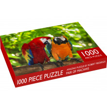 1000pc Jigsaw Puzzle Pair Of Macaws