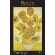 1000pc Jigsaw Puzzle Van Gogh Sunflowers