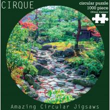 1000pc Jigsaw Puzzle Round Garden Plants