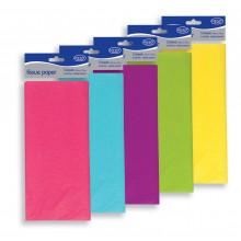 Asst Colour Tissue Paper 5shts 50x75cm