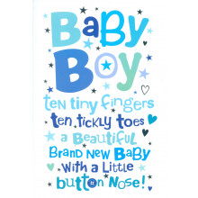 Cards Word Play 23951 Baby Boy