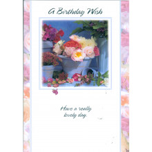 Blossoms & Bows Cards 017 Open Birthday