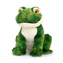 18cm Keeleco Frog Soft Toy