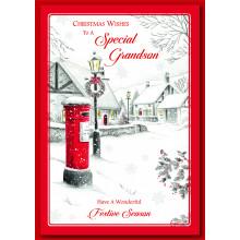 Grandson Trad 60 Christmas Cards