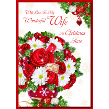 Wife Trad 60 Christmas Cards