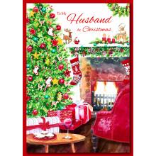 Husband Trad 60 Christmas Cards