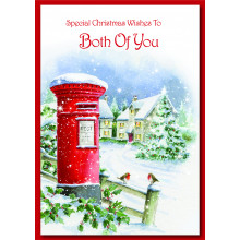 To Both of You Trad 60 Christmas Cards