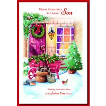 Son Trad 75 Christmas Cards