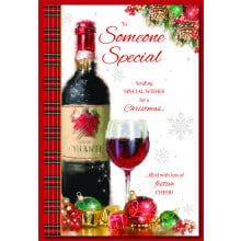 S.Spec Male Tr 75 Christmas Card