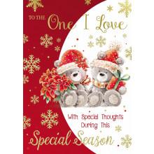 O.I.L Cute 50 Christmas Cards