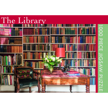 1000pc Jigsaw Puzzle The Library