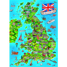 1000pc Jigsaw Puzzle United Kingdom