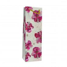 Gift Bag Turnowsky Pink Daisy Bottle