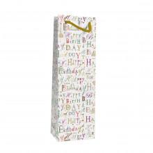 Gift Bag Turnowsky Happy Birthday Bottle