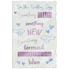 Cards TWP19007 Code 75 Wedding Day