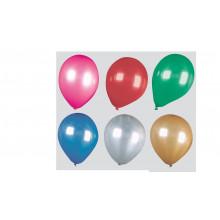 "Fantasia 12"" Shiny Asst Balloons Pack 15 - Helium Quality"