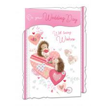 Cards WP19044 Code 75 Wedding Day 3 Fold