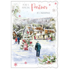 Partner Male Trad 50 Christmas Cards