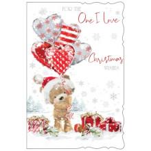 Boyfriend Cute 75 Xmas Card