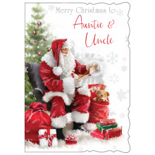 Auntie+Uncle Juv 50 Christmas Cards