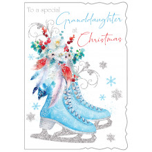 JXC0810 Grand-daughter Trad 50 Christmas Cards