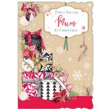 JXC0793 Mum Trad 50 Christmas Cards