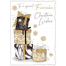 JXC0817 Fiancee 50 Christmas Cards
