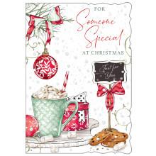 S.Spec Fem Tr 50 Christmas Cards