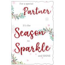 Partner Fem Trad 75 Christmas Cards