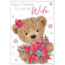 XD00129 Wife Cute 50 Christmas Cards