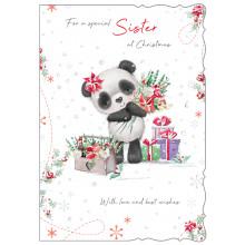JXC0803 Sister Cute Christmas Cards