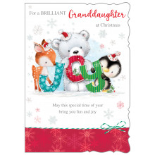 Gr-daughter Ct 50 Christmas Card