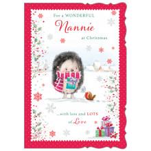 JXC0809 Nannie Cute Christmas Cards