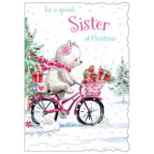 JXC0801 Sister Cute Christmas Cards