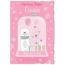 Cousin Fem Juv 50 Christmas Cards