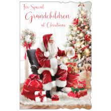 Grandchildren Trad 75 Christmas Cards