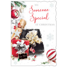 S.Spec Male Tr 50 Christmas Card