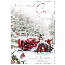 JXC0795 Son Trad 50 Christmas Cards