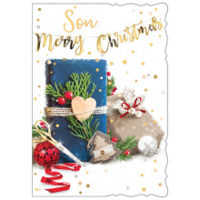 JXC0797 Son Trad 50 Christmas Cards