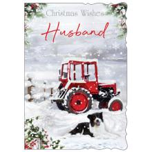 Husband Trad 50 Christmas Cards