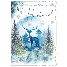 JXC0791 Husband Trad Christmas Cards